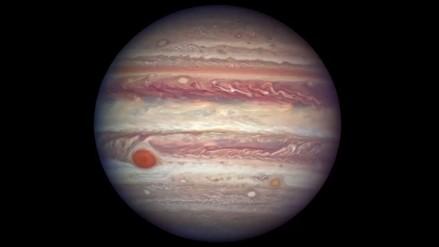 La NASA capta la legendaria Gran Mancha Roja de Júpiter