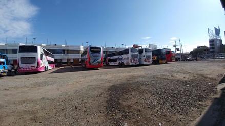 Chiclayo: demanda de pasajes terrestres cayó hasta en un 50%
