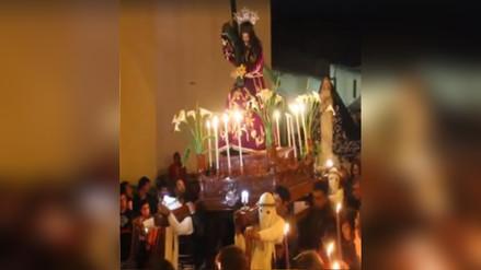 Contumazá celebra Semana Santa con mucho fervor religioso