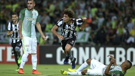 Atlético Nacional fue derrotado por Botafogo en la Copa Libertadores