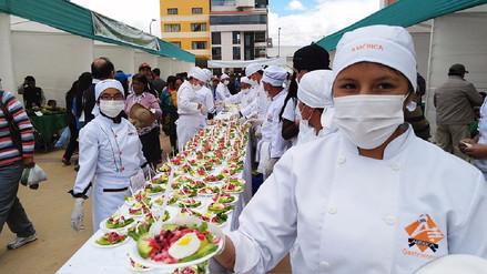 Huancayo: preparan la ensalada de palta más grande del mundo
