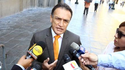 Becerril pidió prisión preventiva para Humala y Heredia