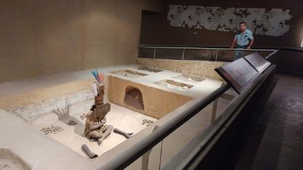 Escasa presencia de turistas en el Museo Nacional Sicán por Semana Santa