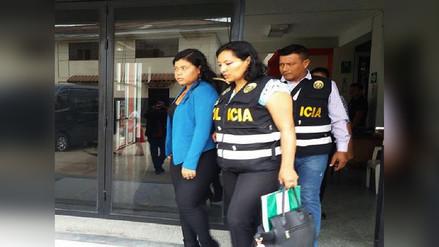 Detienen a secretaria del Gobierno Regional de San Martin con más de 19 mil soles