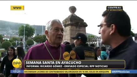 Arzobispo Salvador Piñeiro recomienda visitar estas siete iglesias en Ayacucho