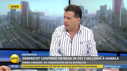 """Omar Chehade: """"Hay peligro de fuga de Humala y Heredia"""""""