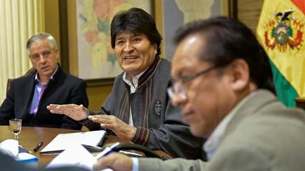 Evo Morales dirigió el Consejo de Ministros en medio de su convalecencia