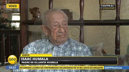 """Isaac Humala: """"Lo de Odebrecht no fue soborno, fue colaboración ideológica"""""""