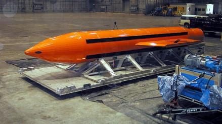 Así es la bomba GBU-43,