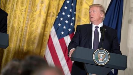 """Trump se desdijo de sus críticas a la OTAN y la llama """"nuestra alianza"""""""