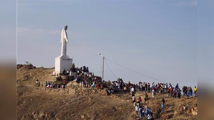 Chepén vive el Vía Crucis más alto del Perú