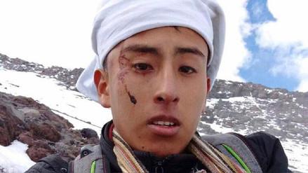 Joven fue rescatado del volcán Misti tras pedir ayuda por WhatsApp