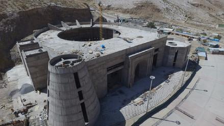 Trabajos de construcción del templo de Chapi se reinician el martes 18