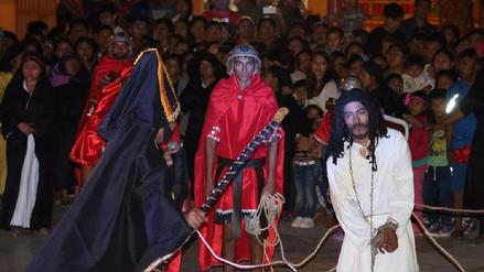Chiclayo: feligreses de Ciudad Eten viven con fervor la Semana Santa