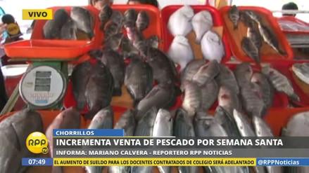 Aumenta la venta de pescado para este Viernes Santo