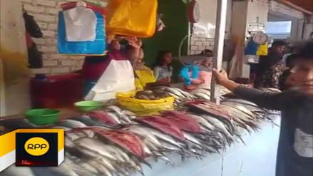 Se incrementó precio de pescados y mariscos en Viernes Santo