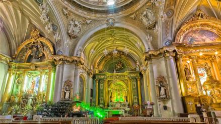 El tour virtual de las siete iglesias en Lima