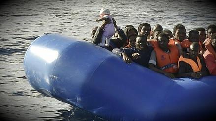 Más de 2,000 inmigrantes africanos fueron rescatados en el Mar Mediterráneo
