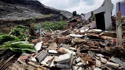 Una avalancha de basura dejó 16 muertos en Sri Lanka