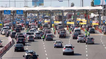Habilitarán dos carriles más para vehículos que retornan este domingo del sur