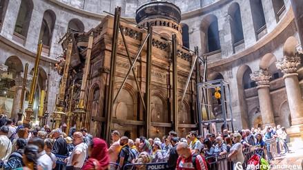 La tumba de Jesús fue remodelada y reabrió sus puertas