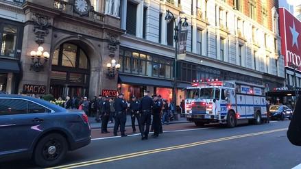 Una falsa alarma de tiroteo ocasionó una estampida en estación Nueva York