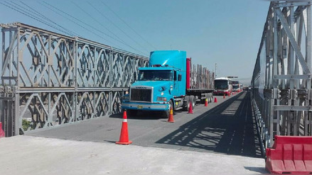 Virú: tras un mes, se restablece tránsito en Panamericana Norte