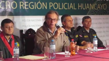 Ministro del Interior brindó detalles sobre captura de  'La gran familia del centro'