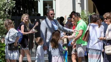Ben Affleck y Jennifer Garner fueron vistos juntos