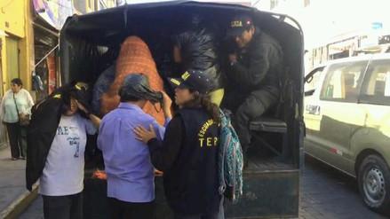 Intervienen a 18 mujeres en burdel clandestino de Arequipa