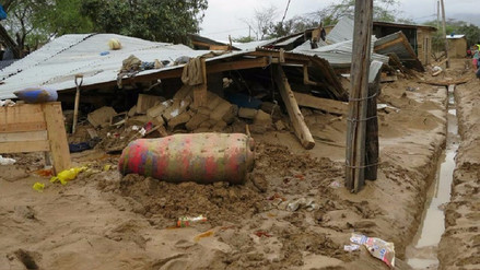 Lambayeque: damnificados de zona rural de Salas reciben alimentos