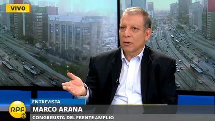 """Marco Arana: """"No podemos llamar presos políticos a sancionados por terrorismo"""""""