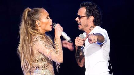 Jennifer López y Marc Anthony cantaron a dúo