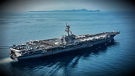 El grupo de ataque que Estados Unidos anunció, nunca zarpó a Corea