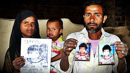 Aparecieron los padres de la niña 'criada' por monos en bosque de la India
