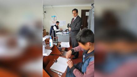 Menores infractores de la ley cumplen labores de apoyo en juzgados