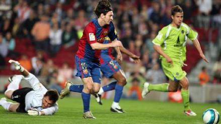 Se cumplen 10 años del golazo 'maradoniano' de Lionel Messi al Getafe