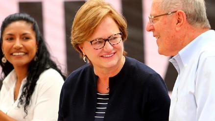Primera dama Nancy Lange: