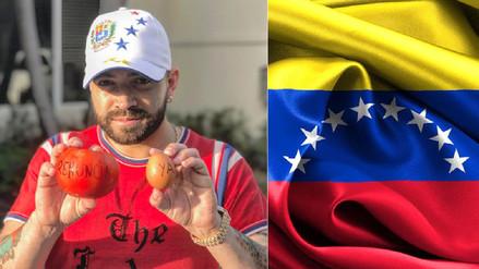 Nacho dedicó una canción a la difícil situación que afronta Venezuela