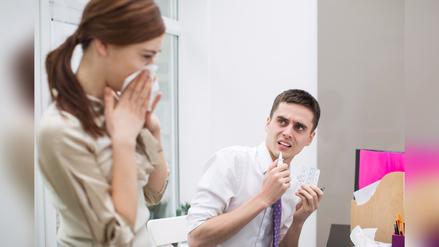 ¿Cómo evitar problemas respiratorios y alergias en el trabajo?