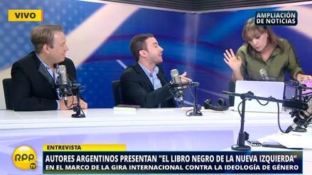 Patricia del Río debatió con autores argentinos sobre la 'ideología de género'