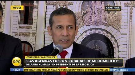 Humala aseguró que Nadine Heredia aún no tiene planeado salir del país