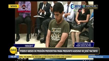 Poder Judicial dicta 9 meses de prisión preventiva en contra de Wilfredo Zamora
