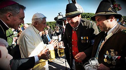 Así celebró su cumpleaños 90 el papa emérito Benedicto XVI