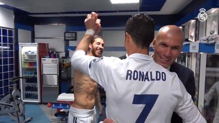 Real Madrid difundió un video inédito de su celebración en vestuarios