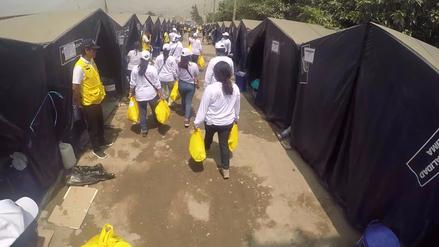 Video | USMP llevó donación a los damnificados de Carapongo
