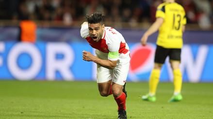 La letal definición de cabeza de Radamel Falcao que hundió al Dortmund