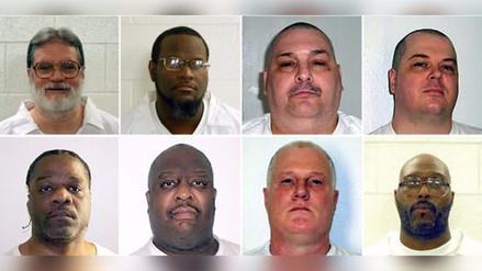 La Justicia de EE.UU. bloquea la ejecución de ocho condenados a pena de muerte
