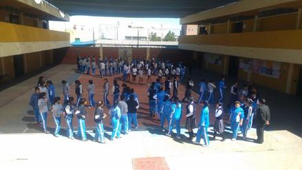 Escolares participaron en primer simulacro de sismo del año
