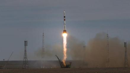 La nave Soyuz MS-04 partió rumbo a la Estación Espacial Internacional